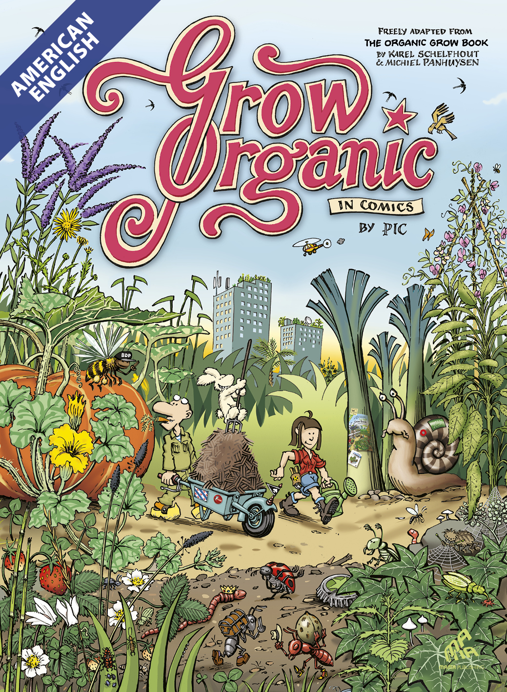 Grow Organic in Comics - American English Edition